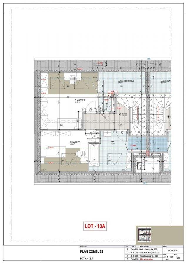 Appartement à louer 3 chambres à Canach