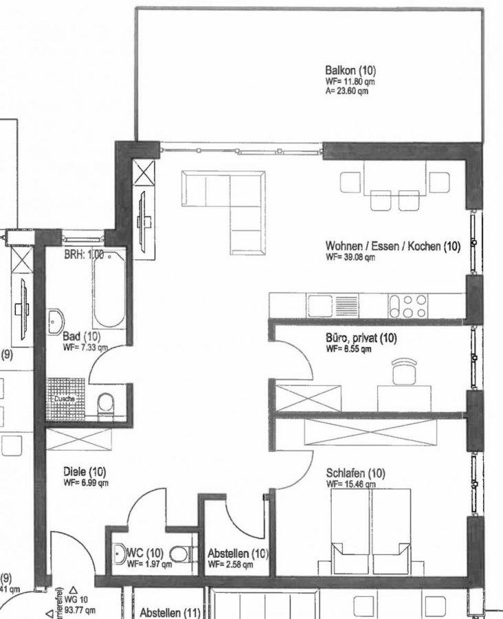 wohnung kaufen 3 zimmer 93.64 m² wittlich foto 2