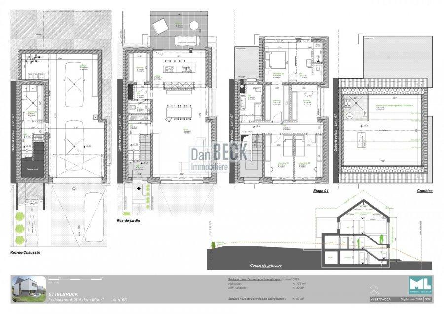 acheter maison 3 chambres 177 m² ettelbruck photo 3