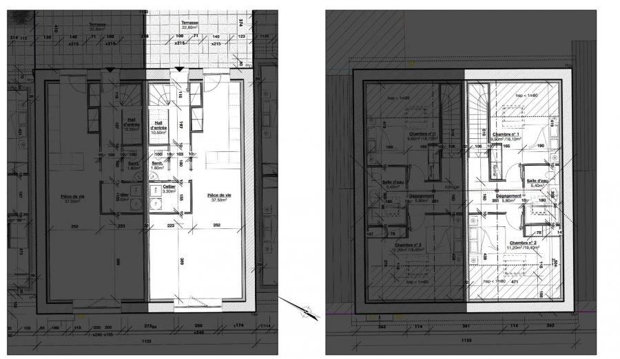 Duplex à vendre F3 à Tellancourt
