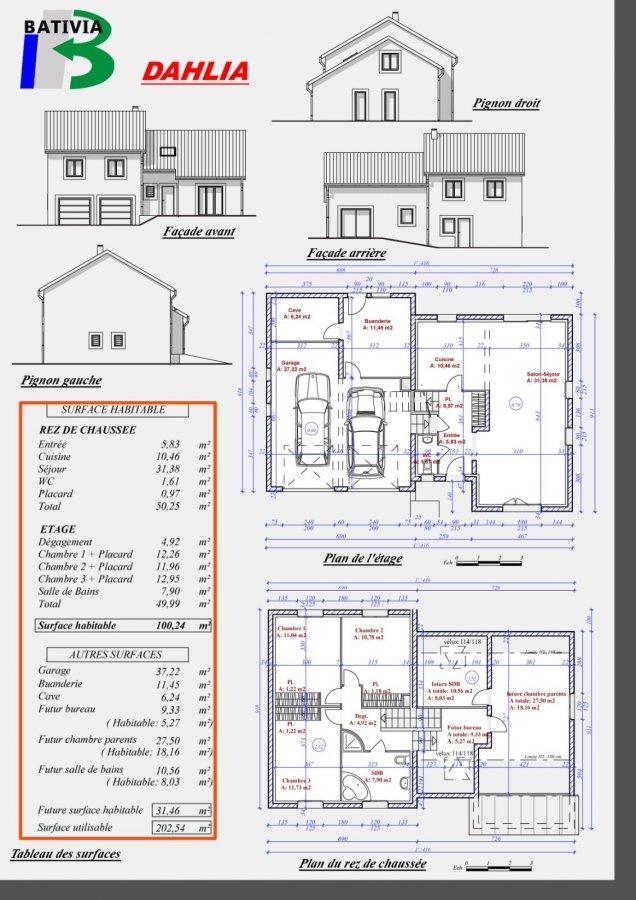 Maison individuelle à vendre F6 à saulny