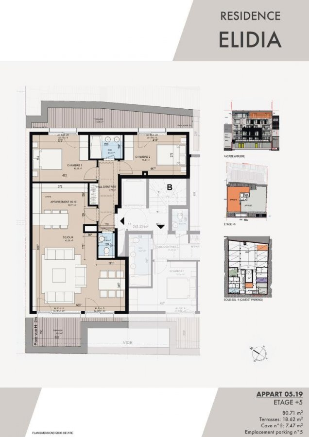 penthouse for buy 2 bedrooms 88.16 m² luxembourg photo 2