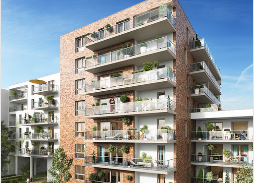 Neuf appartement f2 lille nord r f 5335184 for Appartement f2 neuf