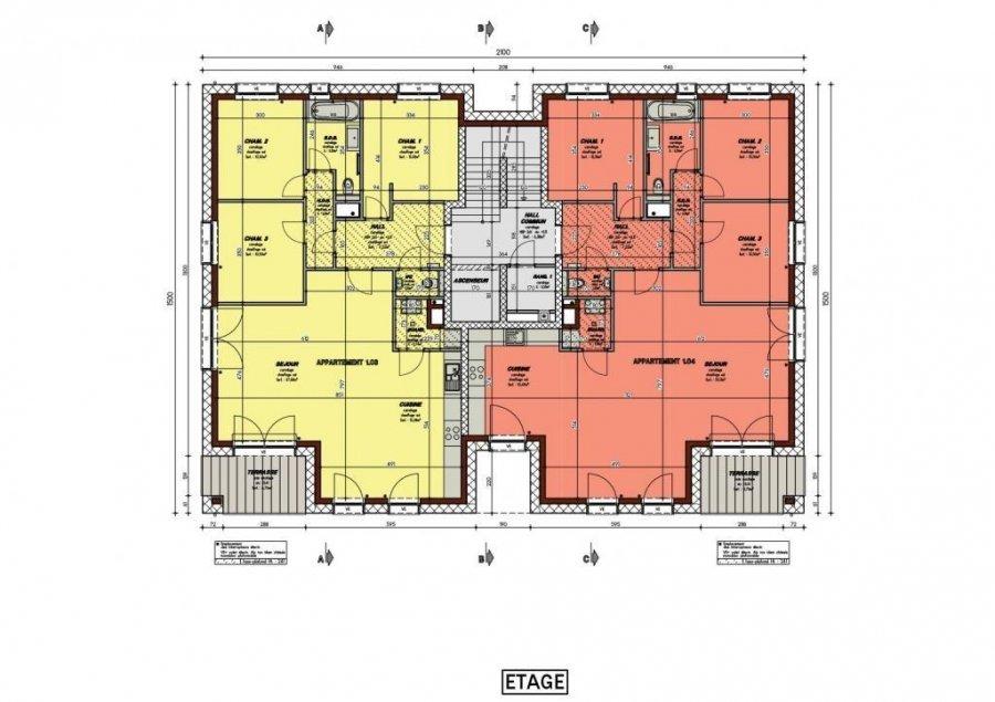 acheter appartement 3 chambres 114 m² dippach photo 2