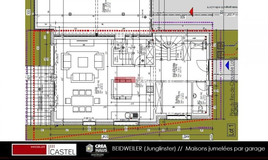 Building Land For Buy 4 Bedrooms 0 M² Beidweiler Photo 6