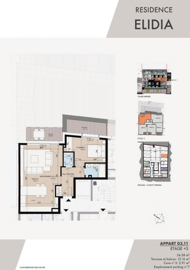 apartment for buy 1 bedroom 59.24 m² luxembourg photo 2