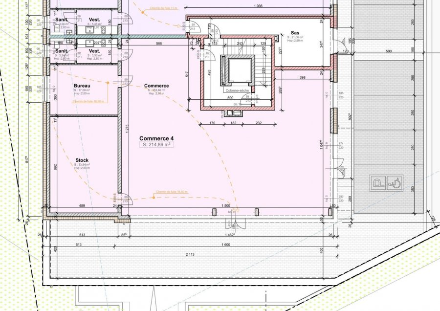 acheter bureau 1 chambre 214.86 m² wemperhardt photo 3