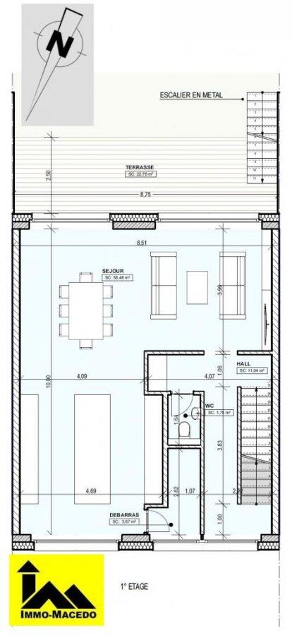 reihenhaus kaufen 4 schlafzimmer 170 m² redange foto 6