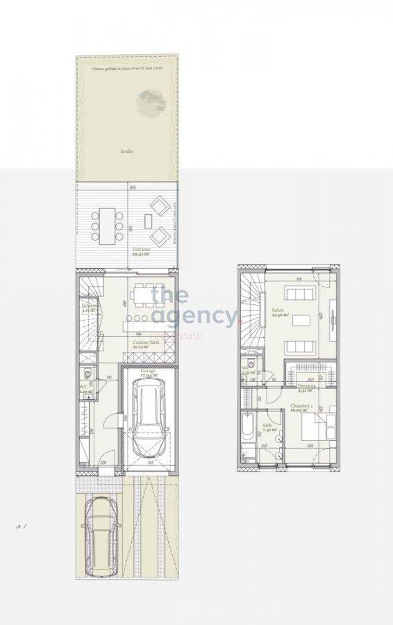 acheter maison 3 chambres 151.28 m² mondercange photo 3