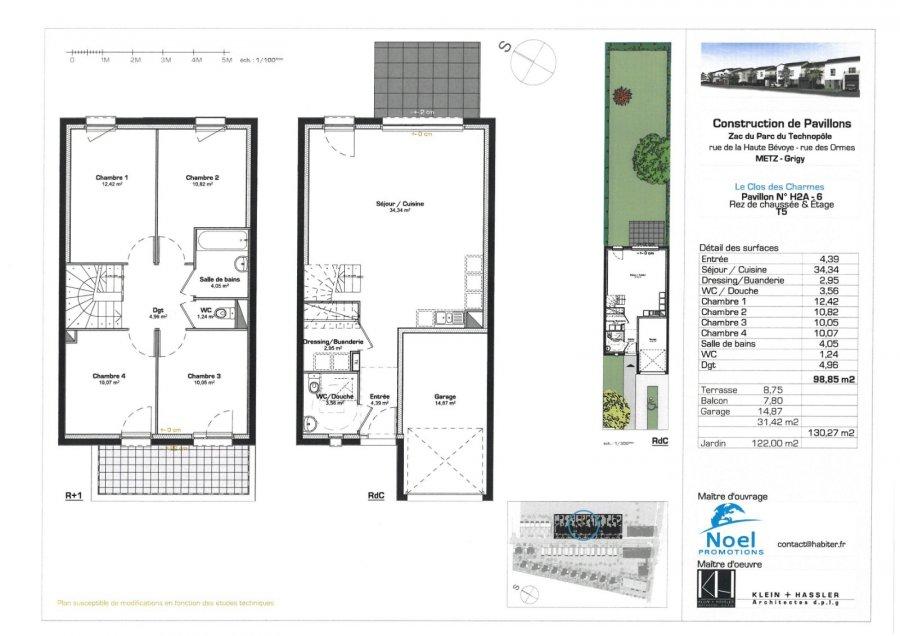 acheter maison 5 pièces 99 m² metz photo 1