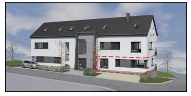 acheter appartement 2 chambres 78.85 m² harlange photo 4
