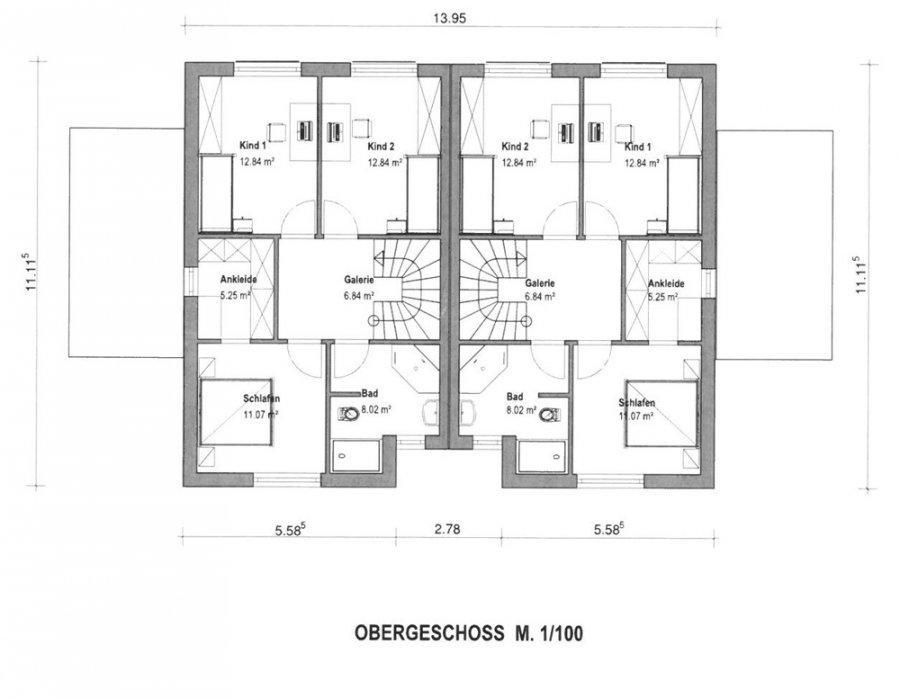 doppelhaushälfte kaufen 6 zimmer 120 m² perl foto 3