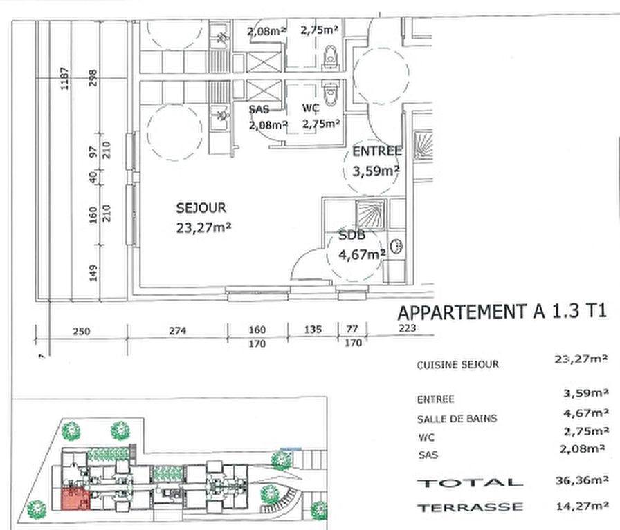 acheter appartement 1 pièce 36.36 m² village-neuf photo 2