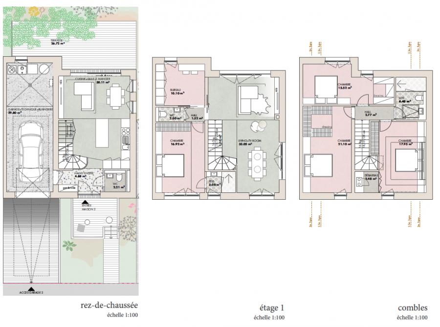 acheter maison jumelée 5 chambres 230 m² echternach photo 2