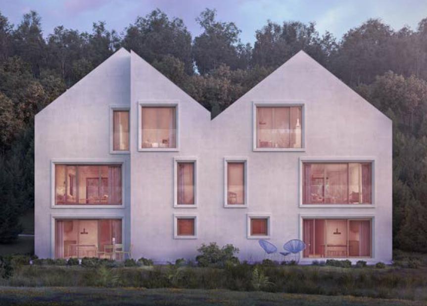 acheter maison jumelée 5 chambres 230 m² echternach photo 4