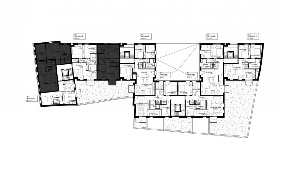 acheter appartement 2 chambres 80 m² echternach photo 7