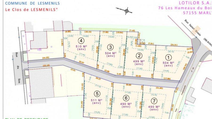 acheter terrain constructible 0 pièce 0 m² lesménils photo 1