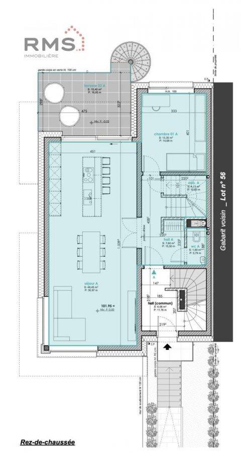 acheter maison jumelée 3 chambres 123.62 m² luxembourg photo 5