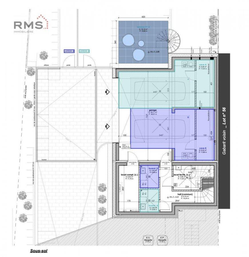 acheter maison jumelée 3 chambres 123.62 m² luxembourg photo 4