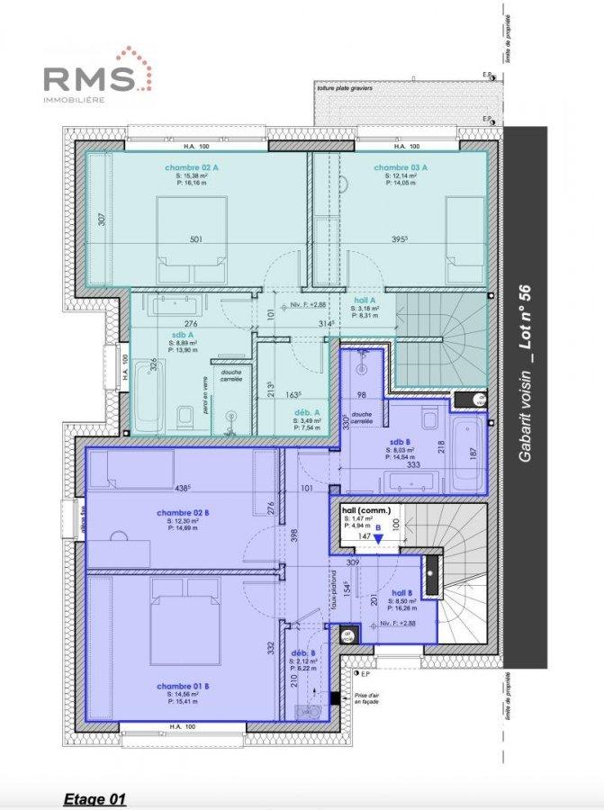 acheter maison jumelée 3 chambres 123.62 m² luxembourg photo 6