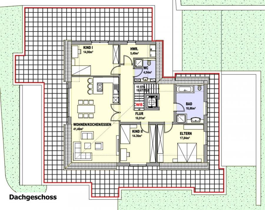 penthouse-wohnung kaufen 4 zimmer 146 m² palzem foto 4