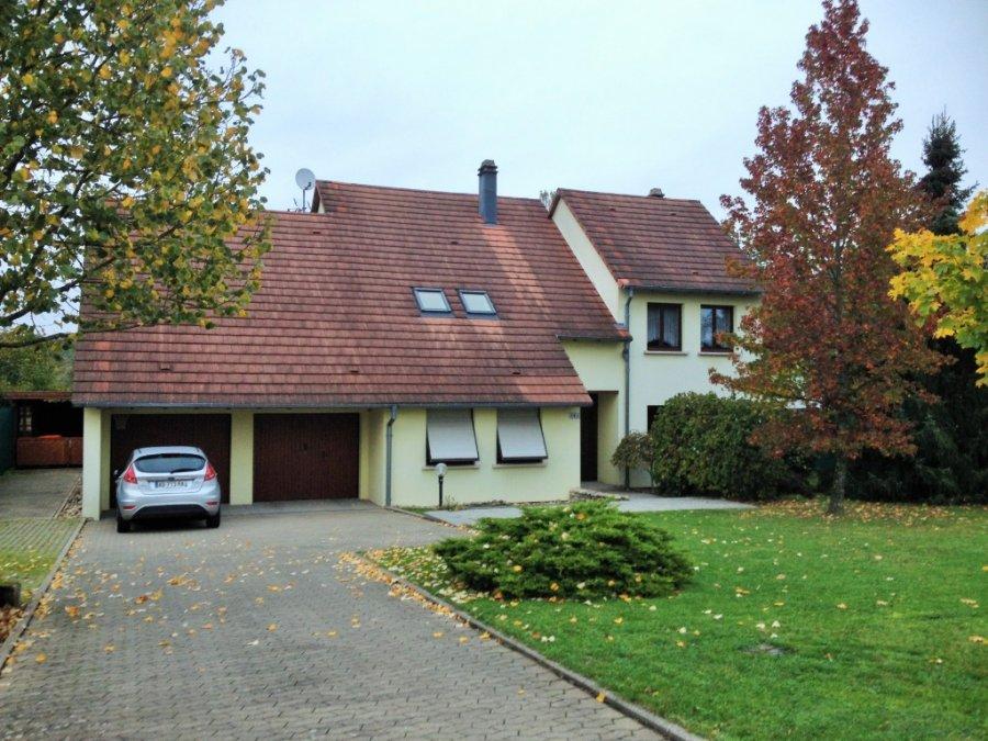 Maison individuelle en vente sarreguemines 160 m for Maison individuelle a acheter