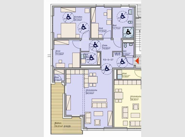 Wohnung zum Kauf 4 Zimmer in Bitburg (DE) - Ref. 6517968