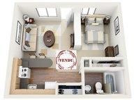 Wohnung zum Kauf 1 Zimmer in Belvaux - Ref. 5889488