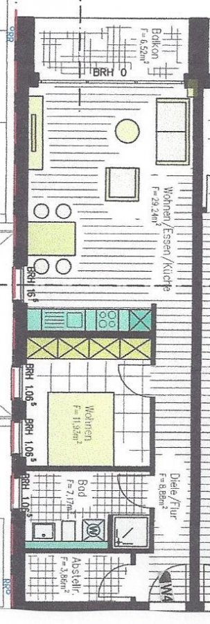 wohnung kaufen 2 zimmer 62.8 m² perl foto 5