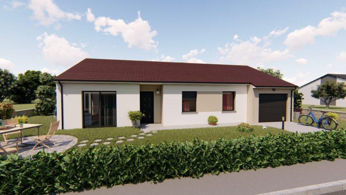 acheter maison 4 pièces 94 m² saudrupt photo 1