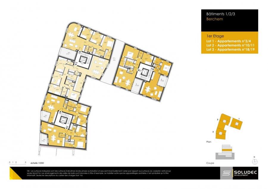 wohnung kaufen 4 schlafzimmer 109.25 m² berchem foto 2