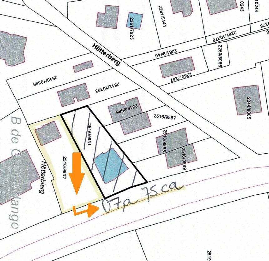 Terrain constructible à vendre à Stadtbredimus