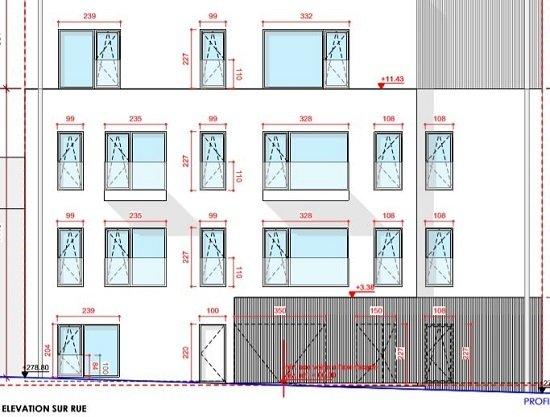 Penthouse à vendre 3 chambres à Luxembourg-Bonnevoie