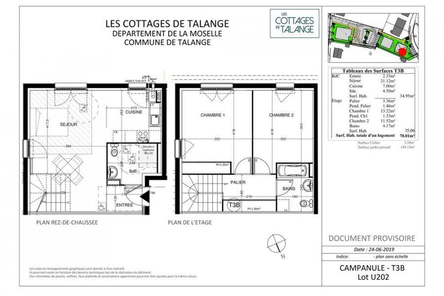 acheter appartement 3 pièces 70 m² talange photo 4