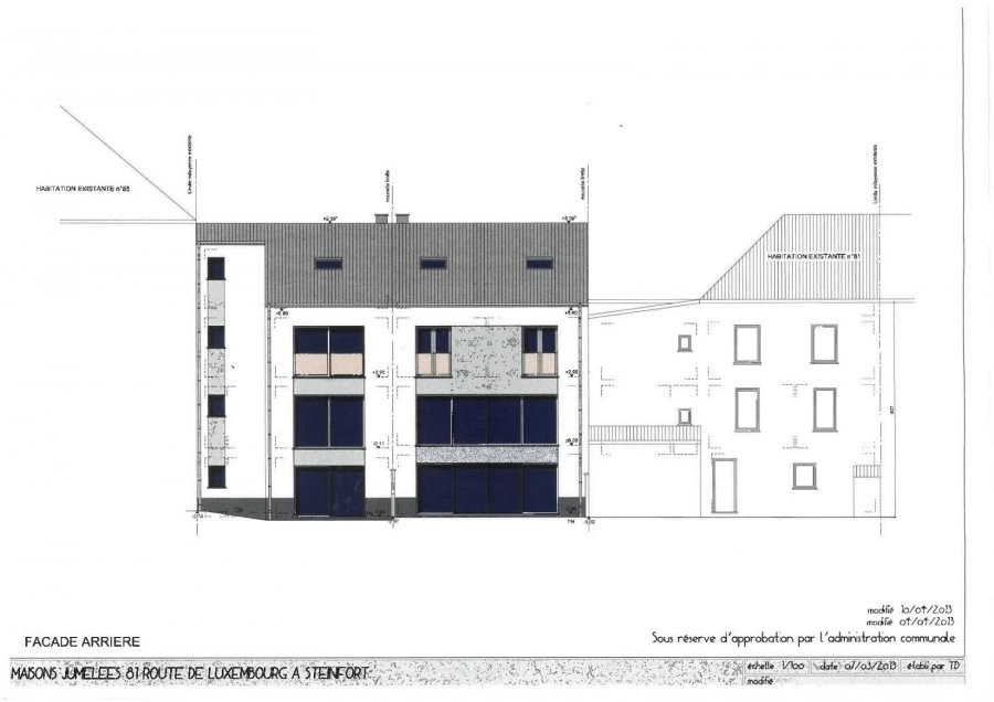 Maison individuelle à vendre 5 chambres à Steinfort