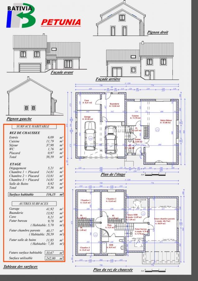 ▷ Maison Individuelle En Vente • Hombourg-Haut • 116 M² • 206 000