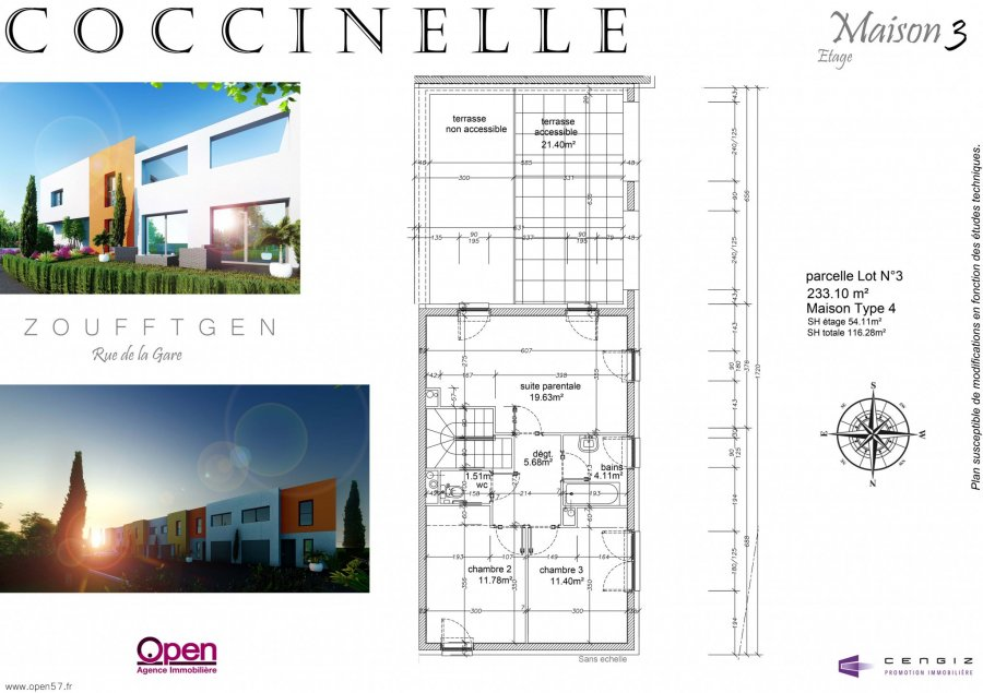 acheter maison 5 pièces 118.33 m² zoufftgen photo 1