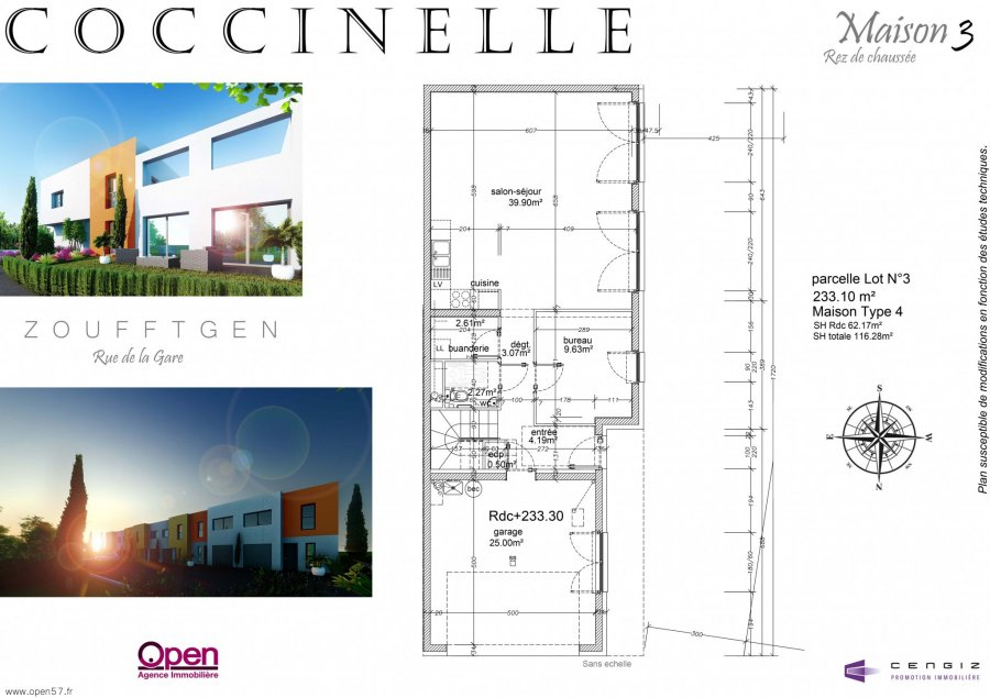 acheter maison 5 pièces 118.33 m² zoufftgen photo 2