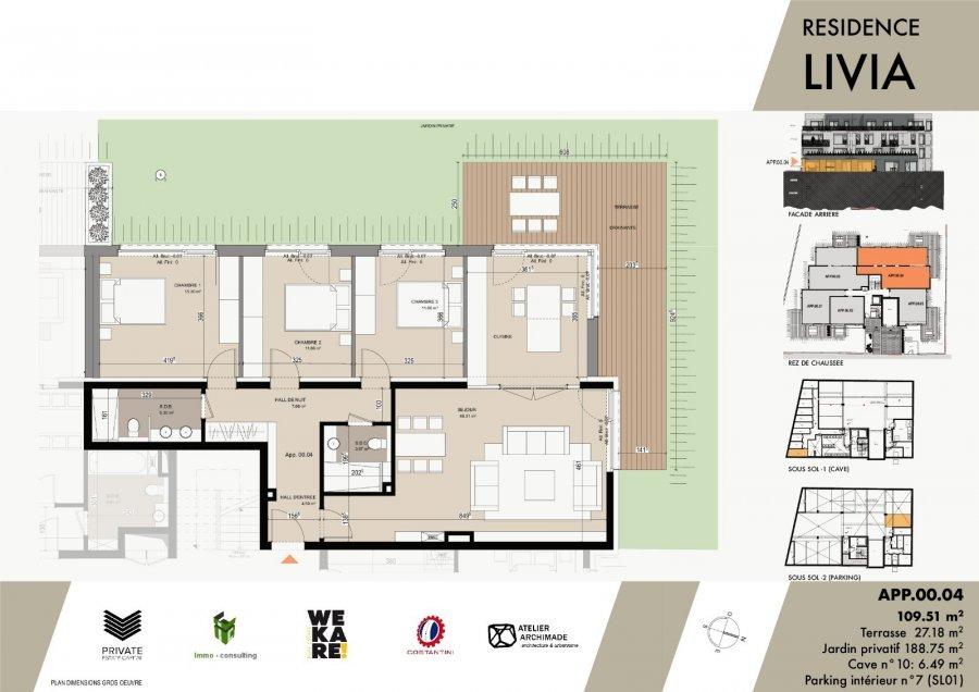 acheter résidence 0 chambre 43.04 à 119.66 m² luxembourg photo 6