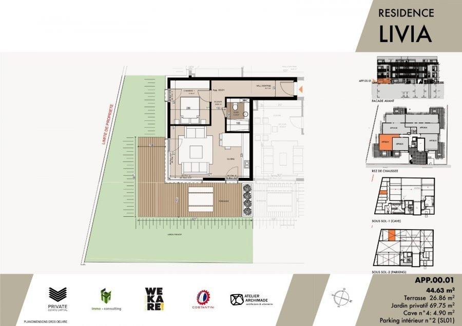 acheter résidence 0 chambre 43.04 à 75.96 m² luxembourg photo 4