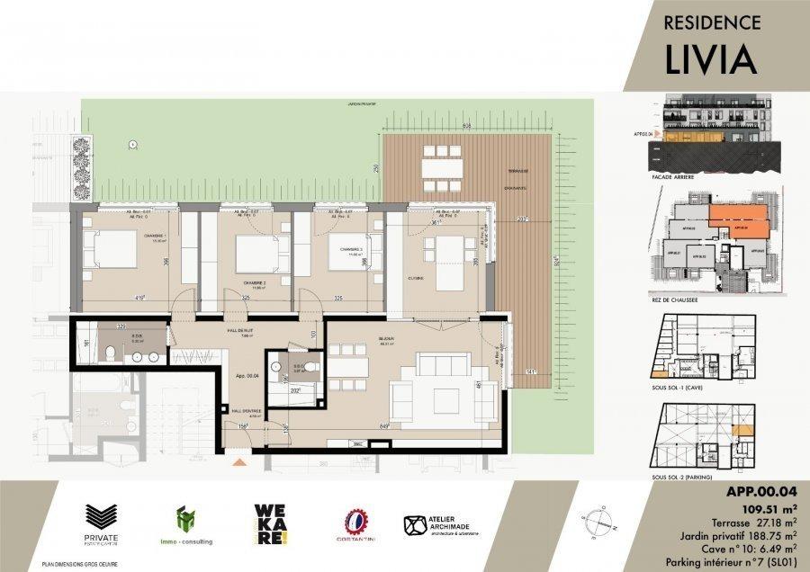 acheter résidence 0 chambre 43.04 à 75.96 m² luxembourg photo 7