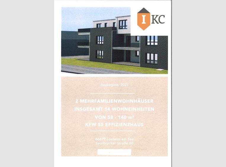 Appartement à vendre 3 Pièces à Losheim (DE) - Réf. 7154416