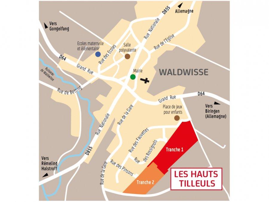 acheter terrain constructible 0 pièce 0 m² waldwisse photo 3