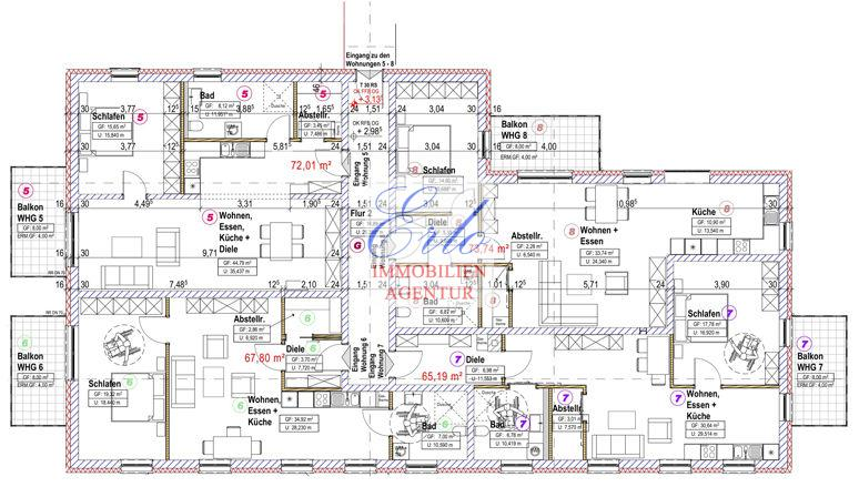 acheter appartement 2 pièces 69.19 m² zerf photo 3