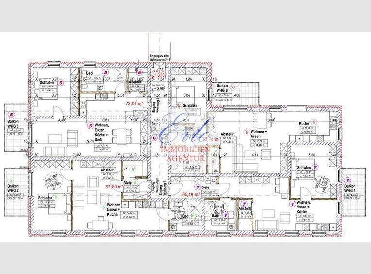Appartement à vendre 2 Pièces à Zerf (DE) - Réf. 6681345
