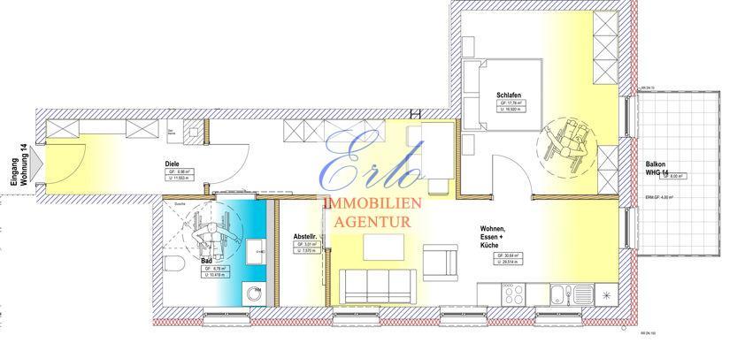 acheter appartement 2 pièces 69.19 m² zerf photo 2
