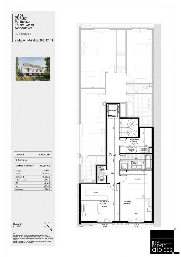 penthouse for buy 3 bedrooms 202 m² niederanven photo 7