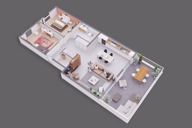 acheter appartement 2 chambres 89.28 m² bofferdange photo 5