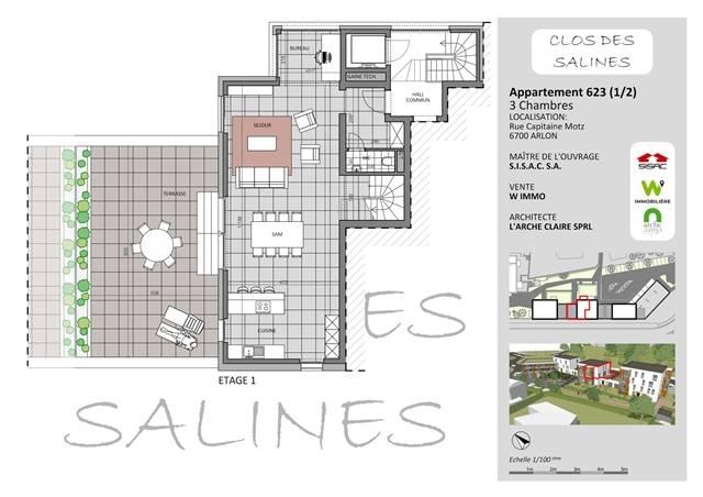 wohnung kaufen 0 zimmer 158 m² arlon foto 1