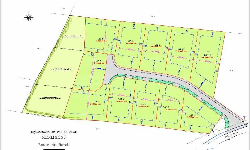 Terrain constructible à vendre à Merlimont